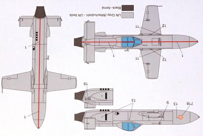 MXY-7 ohka Model
